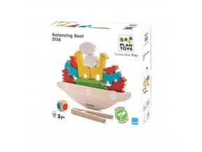 Plan Toys - Balanční loď
