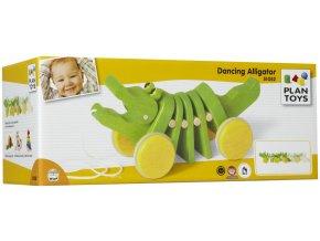 Plan Toys - Tančící krokodýl