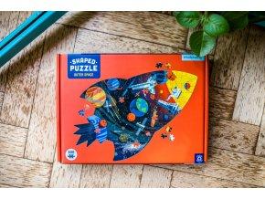 Tvarované puzzle - Vesmír (300 ks) / Shaped Puzzle - Outer Space (300 pc)