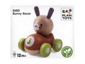 Plan Toys - Závodník - králíček