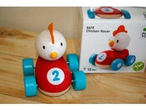 Plan Toys - Závodník - Kuře