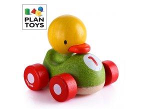 Plan Toys - Závodník - Kachna