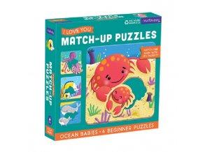 Match-Up Puzzle - Mláďata z oceánu / Ocean Babies