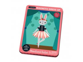 Magnetická krabička - Lesní baletky / Magnetic Tins - Woodland Ballet
