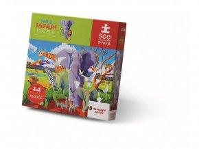 Puzzle Divoké safari (500 dílků) / Wild Safari
