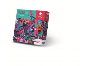 Puzzle Ptáci z ráje (500 dílků) / Birds of Paradise
