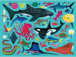 Puzzle Mořská zvířata (500 dílků) / Sea Animals