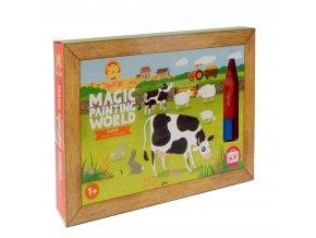 Kouzelné malování - Farma / Magic Painting - Farm