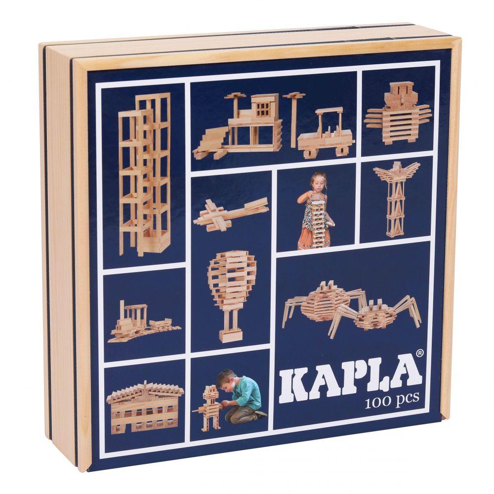 Kapla – Tom van der Bruggen Kapla 100 – dřevěná stavebnice