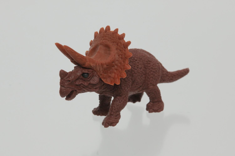 Levně Iwako Gumy / Dinosaur - hnědý