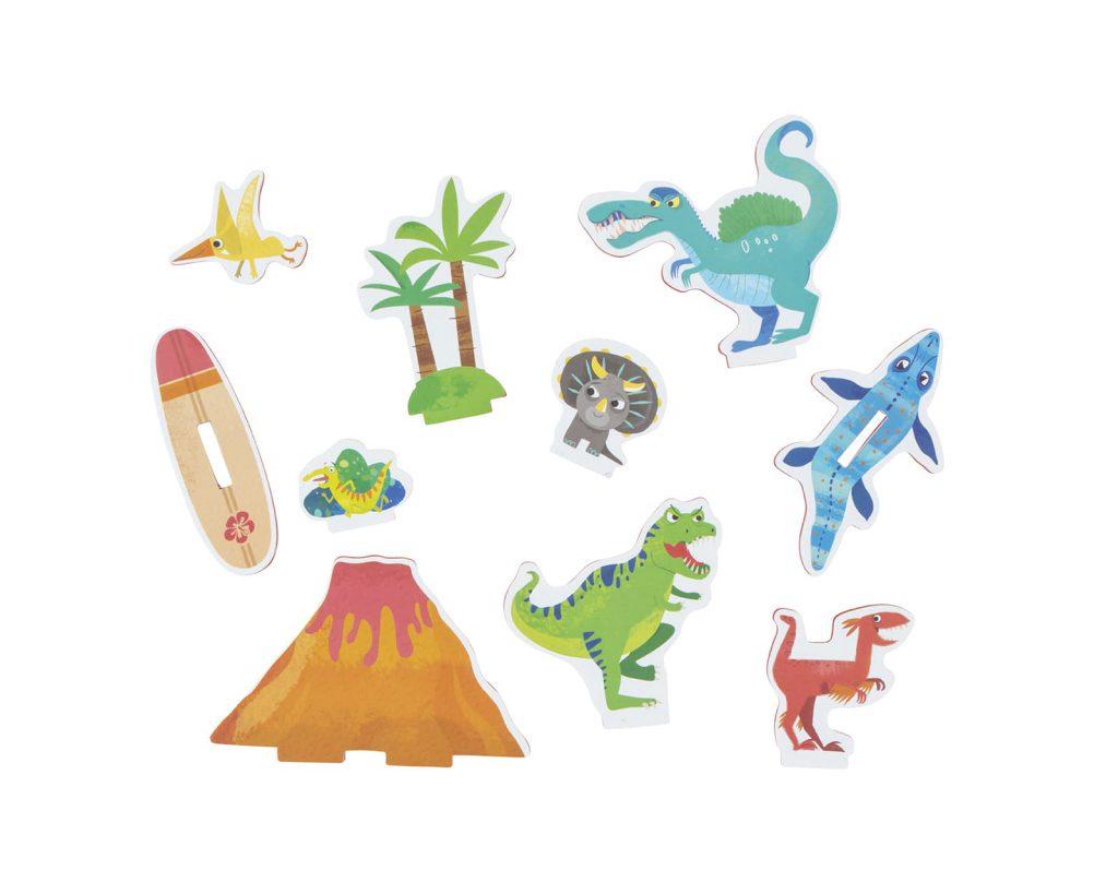Tiger Tribe Bath stories – Země dinosaurů / Bath Stories – Dinosaur Island