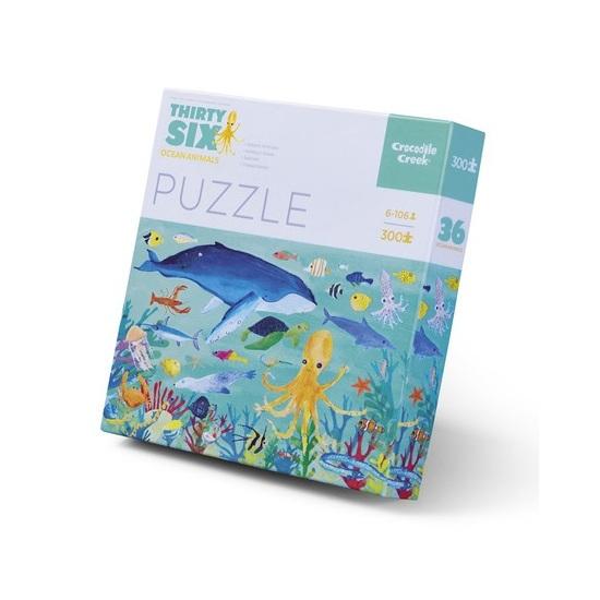 Crocodile Creek Puzzle – Ocean Animals (300 ks)