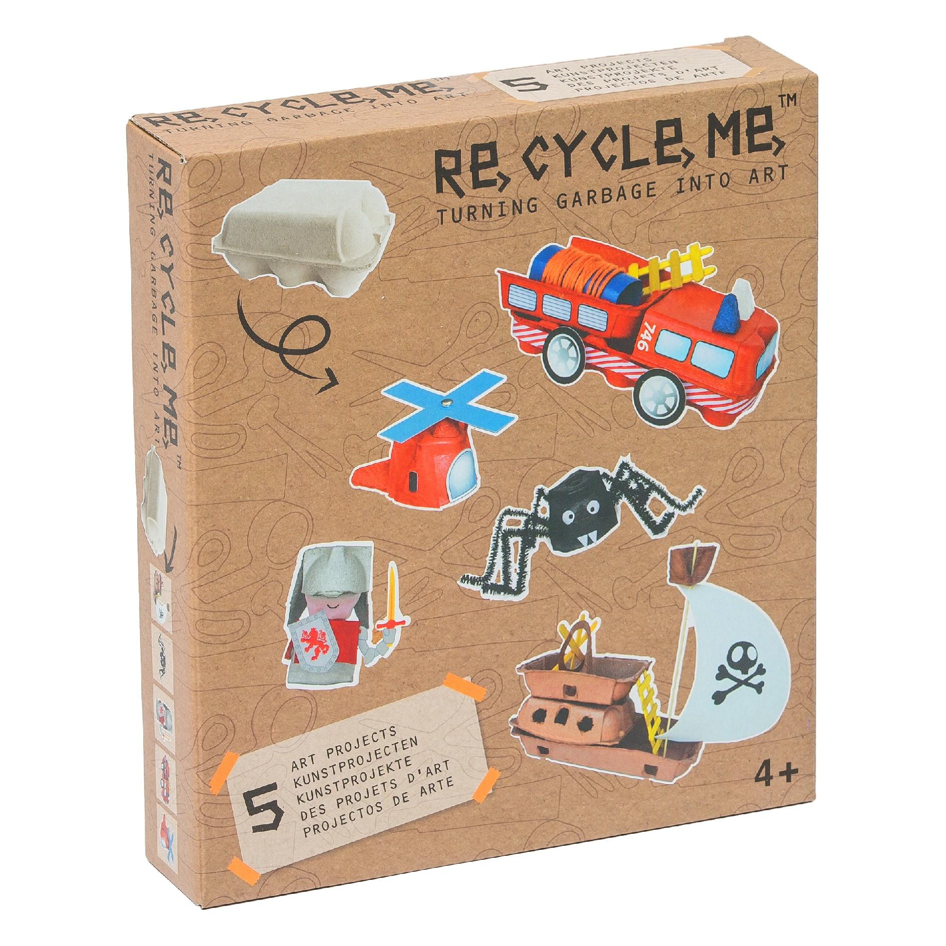 Fun2 Give Re-cycle-me - set pro kluky - Krabička na vajíčka