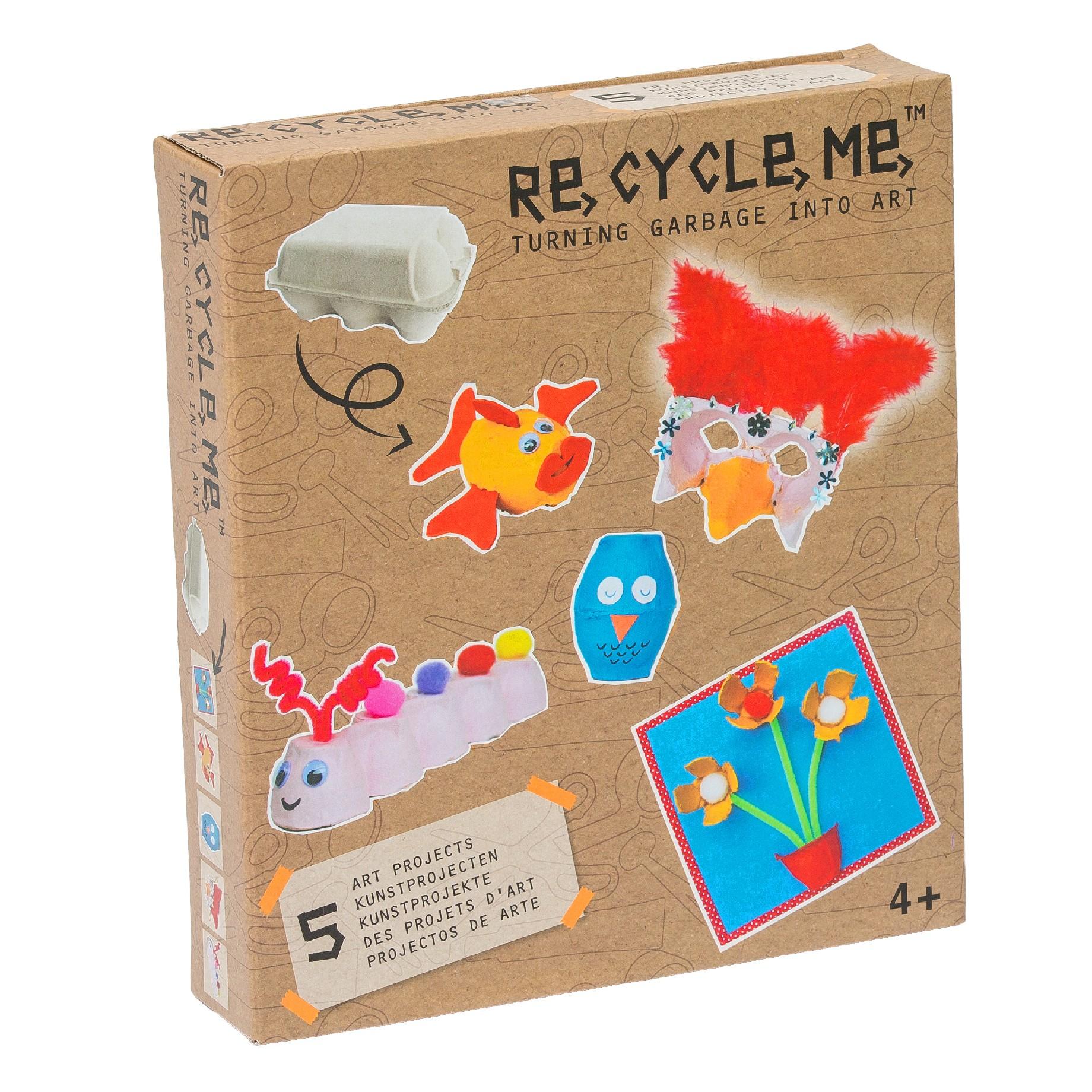 Fun2 Give Re-cycle-me - set pro holky - Krabička na vajíčka