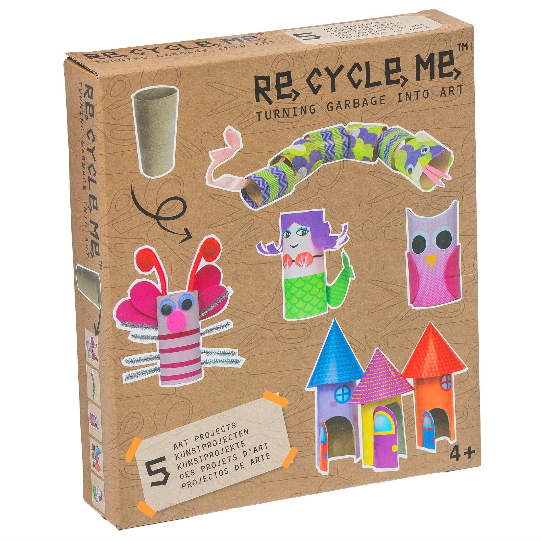 Fun2 Give Re-cycle-me - set pro holky - Rulička toaletního papíru