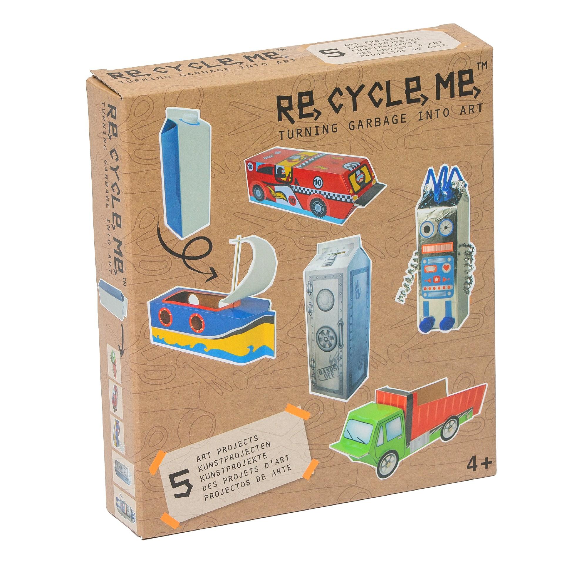 Fun2 Give Re-cycle-me - set pro kluky - Karton od mléka