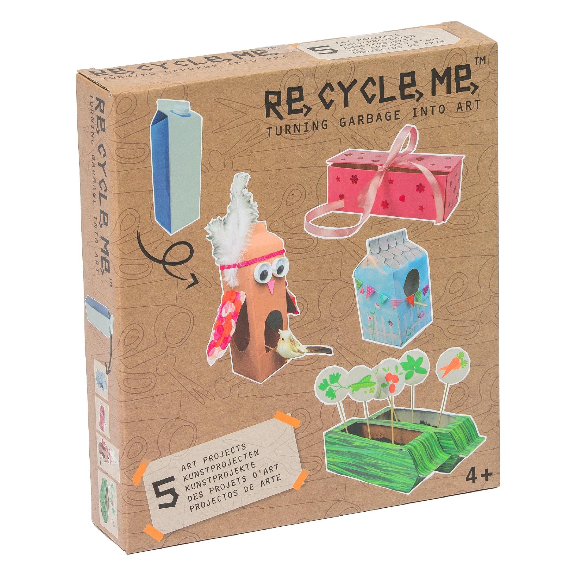 Fun2 Give Re-cycle-me - set pro holky - Karton od mléka