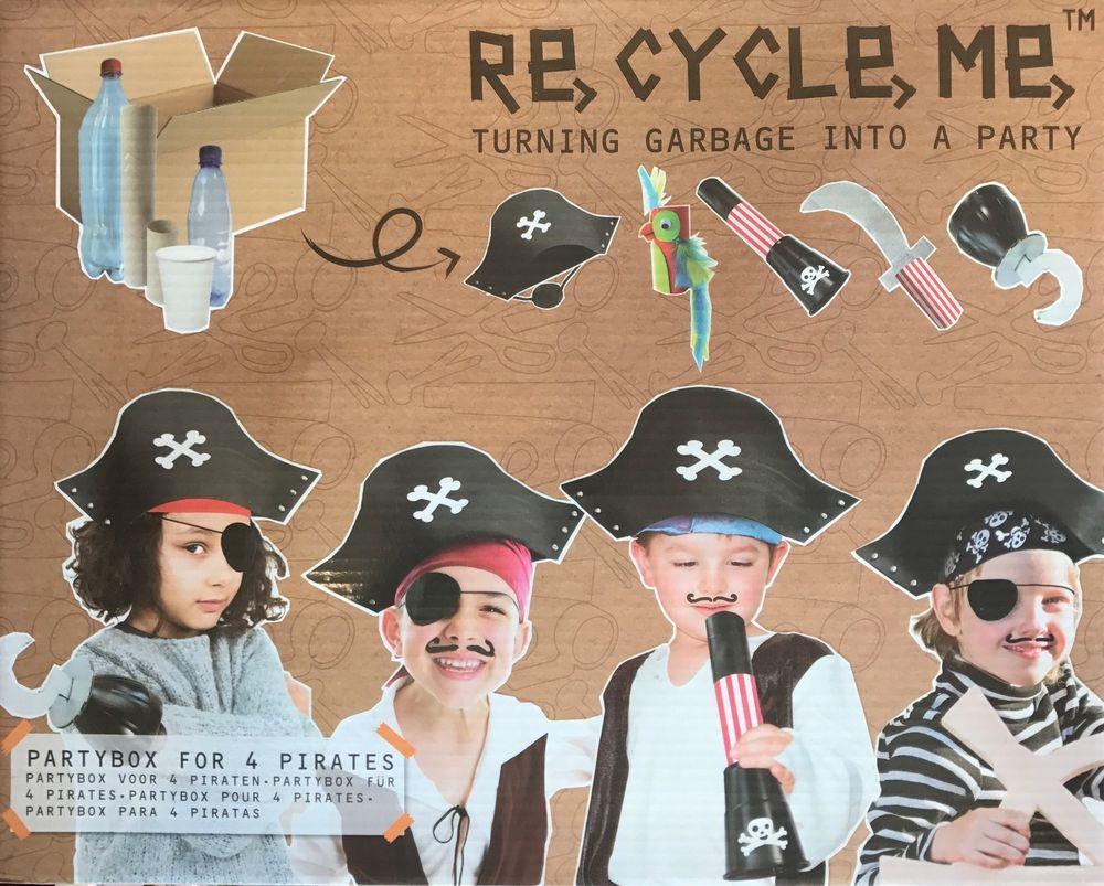Fun2 Give Re-cycle-me - Party box piráti - pro kluky