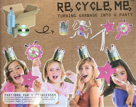 Fun2 Give Re-cycle-me - Party box princezny - pro holky