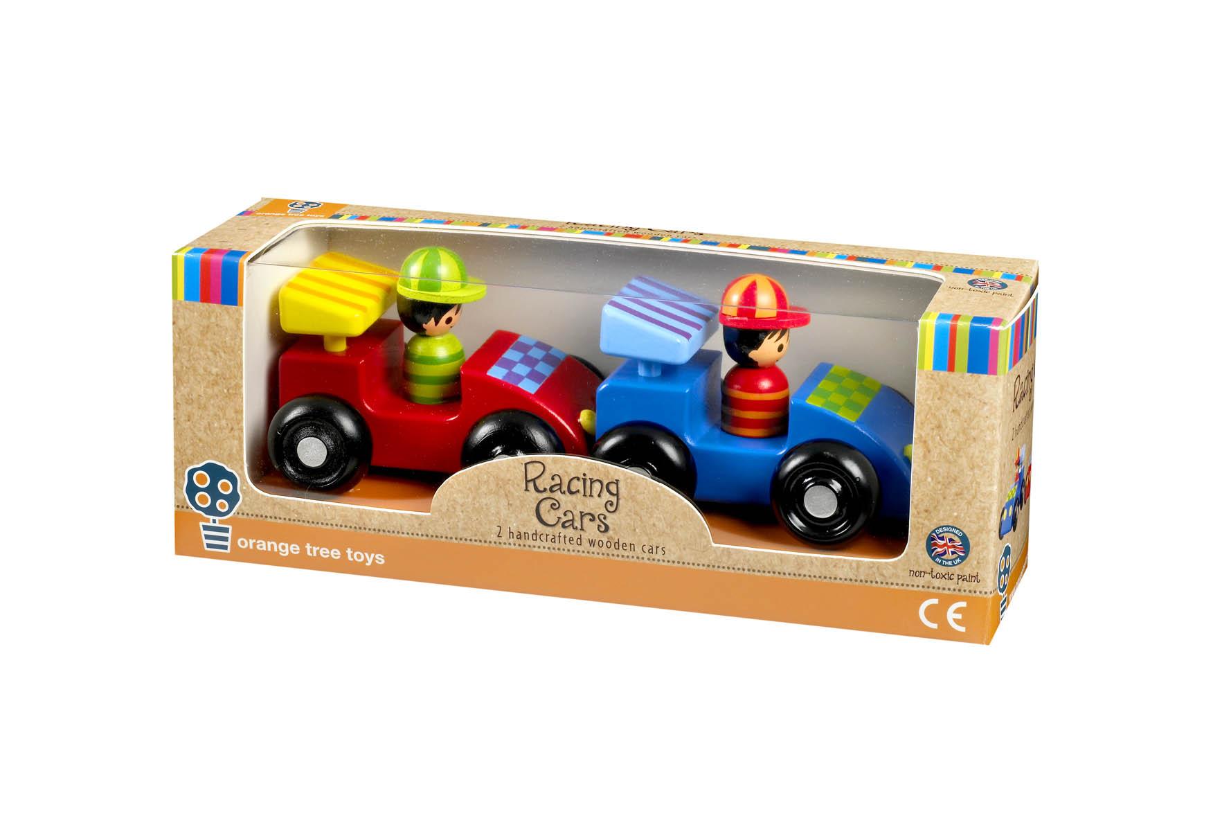 Levně Orange Tree Toys Moje první závodní auta