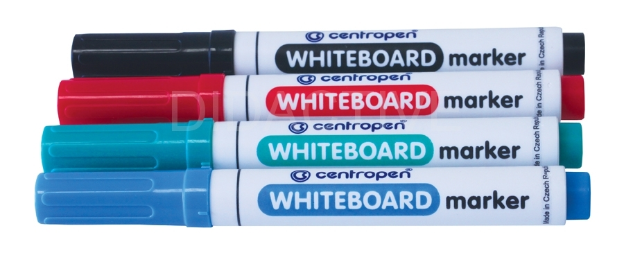 H-Učebnice Popisovače na bílou tabuli = na plakát čtvercová síť