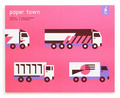 Ringo Toys Robert Czajka Papírové město 3 – fialovorůžové