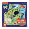 Magnetické puzzle - Zvířata ze souše a moře / Magnetic Fun - Land & Sea Animals