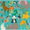 Jumbo Puzzle/Animals of the World (25 pcs)