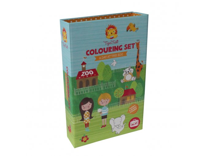 Colouring Set - A day at the ZOO - Deň v ZOO
