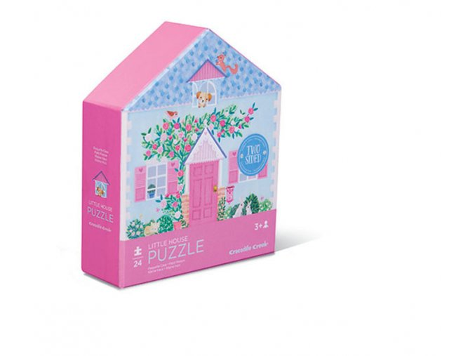 24 pcj Puzzle / Little House Double sided