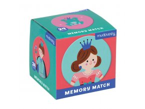 Mudpuppy Mini Memory Match Game Enchanting Princess 9780735347632 MP47632
