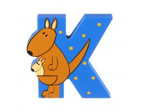 OTTK264 orange tree toys wooden letter k for kangeroo 300x300