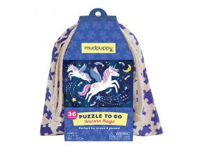 8012 puzzle na cesty kouzlo jednorocce puzzle to go unicorn magic 36 dilku