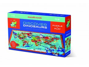 Discover Puzzle Dinosaury (100 ks) / Discover Puzzle Dinosaurs (100 pcs)