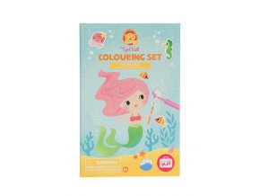 7664 1 colouring set mermaids