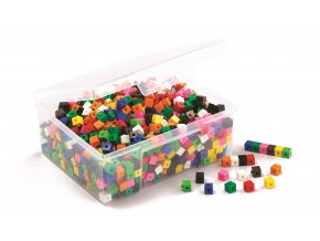 1cm Interlocking Cubes (1000)