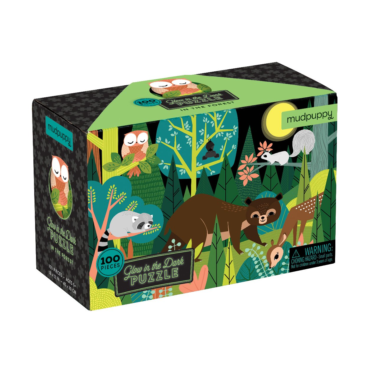 Mudpuppy Glow in the dark puzzle- V lese