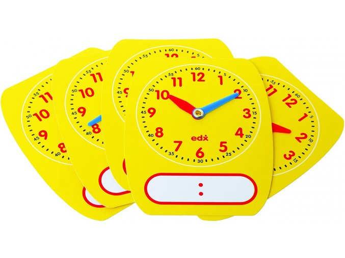 Write OnWipe Off Clock Dials 25615
