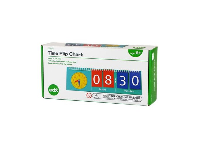 Time Flip Chart, Student Size 1