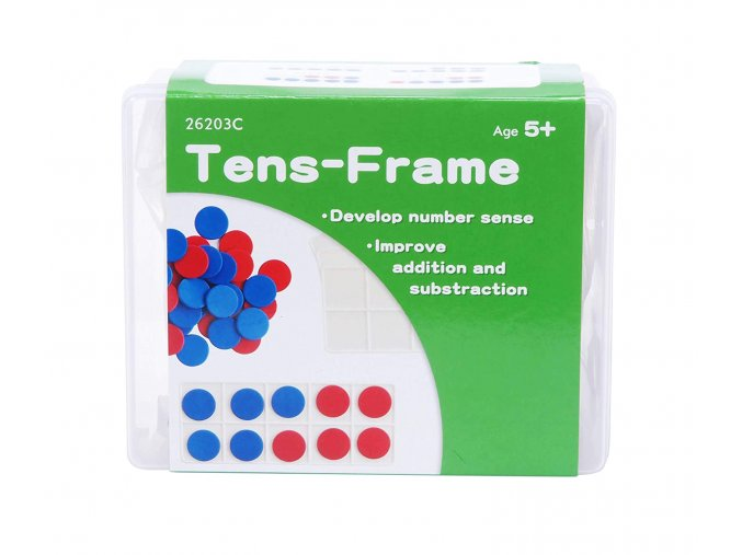 Plastic Ten Frame Set 1