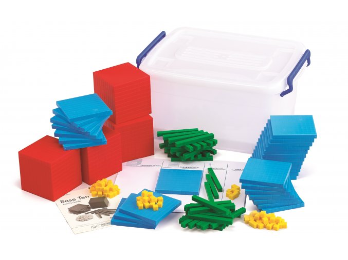 Base Ten Classroom Pack - 4 Color (184)