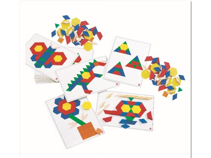 Basic Pattern Block Cards (20)