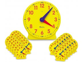 Time Clock Classroom Set - 12hr