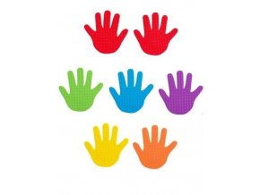 Hand Marks Set of 6 Pairs