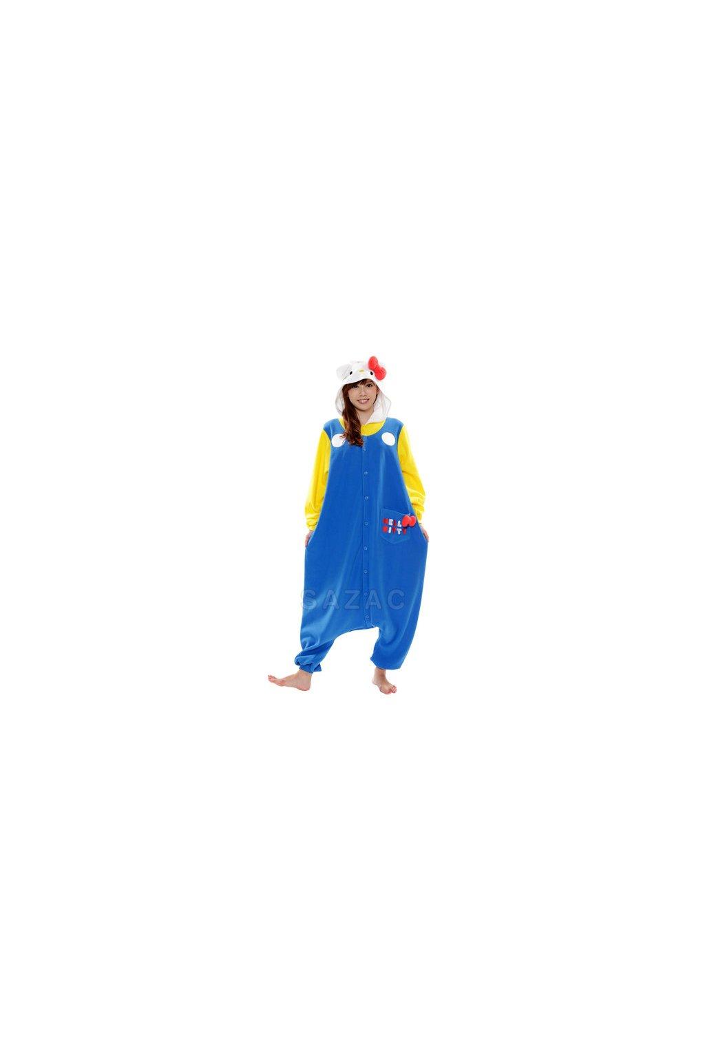 Originál Kigu overal - Hello Kitty modrá