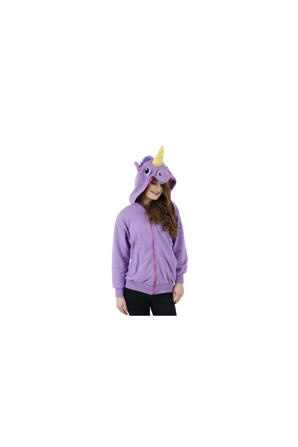 jednorožec fialový mikina kigu a1