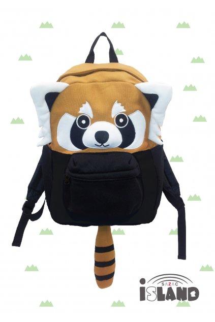Dětský batoh červená panda
