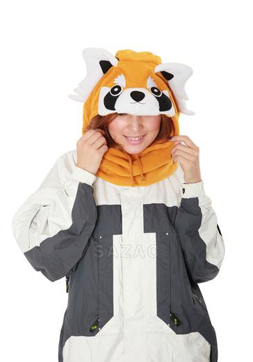 Zimní čepice panda