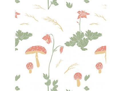 carovny les muchomurky 1