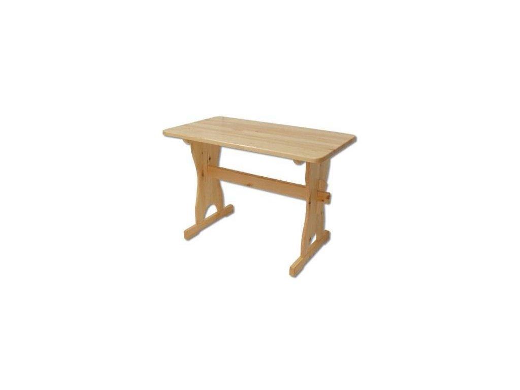 Dřevěný jídelní stůl z masivu KIK 103 110x75x60 cm